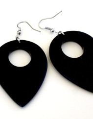 Yapen - Dark Wood Earrings